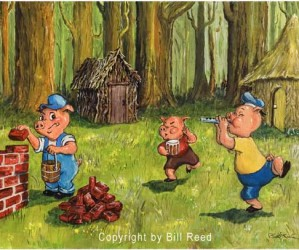 The Three Little Pigs: Building A Strong Foundation For College Success