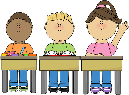 Free Time and Structured Time   The Price Group ... Child Reading At Desk Clipart
